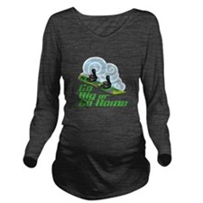 Go Big Or Go Home Long Sleeve Maternity T-Shirt