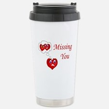 Missing You Stainless Steel Travel Mug
