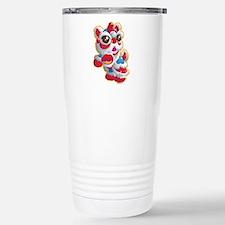 Cute Lion Dancer Travel Mug