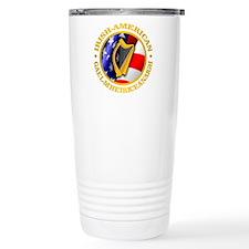 Irish-American Travel Mug