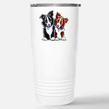 Little League Border Collies Travel Mug