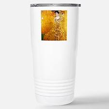 Gustav Klimt Portrait o Stainless Steel Travel Mug