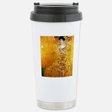 Gustav Klimt Portrait o Travel Mug