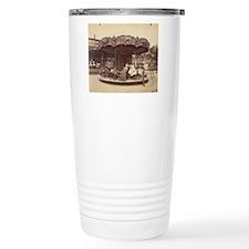 Vintage Carousel Travel Mug