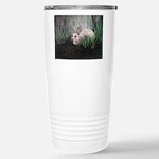 Bunny Rabbit in the Gra Travel Mug