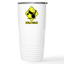 RURAL WHEELIE YELLOW PLACARD 3t Travel Mug