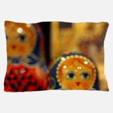 Typical Russian handicrafts. Tradition Pillow Case