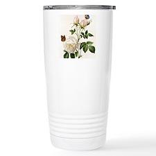 vintage botanical art.  Travel Mug