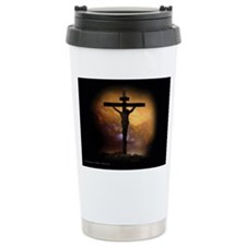 Jesus died for you and  Travel Mug