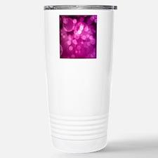 Purple Bokeh Travel Mug