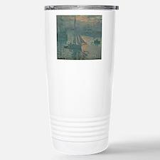 Claude Monet - Sunrise  Thermos Mug