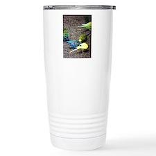 Budgies  Travel Coffee Mug