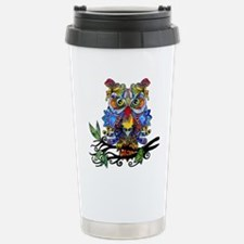 wild owl Stainless Steel Travel Mug