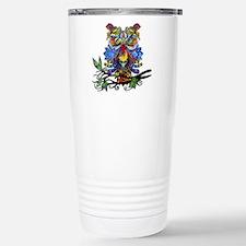 wild owl Thermos Mug
