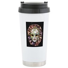 CarnivalMask001 Travel Mug
