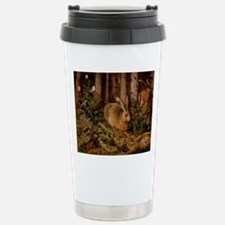 A Hare in the Forest Travel Mug