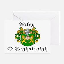 Riley In Irish & Engish Cards (Pk of 10)