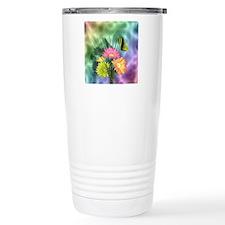 Painted Daisies and But Travel Mug