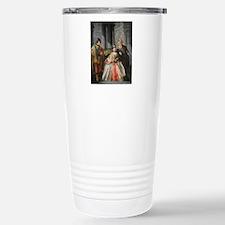 Three Figures Dressed f Travel Mug