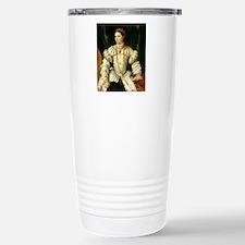 Portrait of a Lady in W Travel Mug