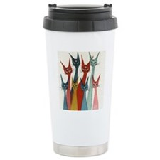 Lucknow Stray Cats Travel Mug