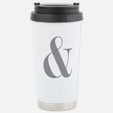 Ampersand Stainless Steel Travel Mug