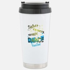 Dance Optional Text Travel Mug