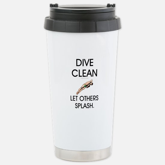 Dive Clean Stainless Steel Travel Mug