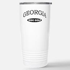 Georgia Disc Golf Stainless Steel Travel Mug