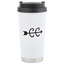 cross country symbol Travel Mug
