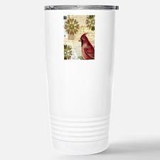 Cardinal and Vintage Ep Travel Mug