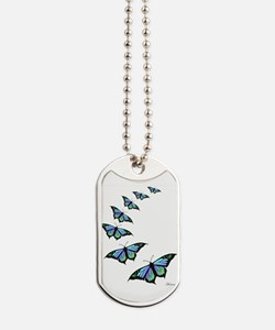 Unique Butterfly Dog Tags