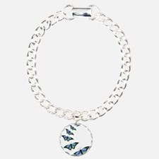 Cute Butterfly Charm Bracelet, One Charm
