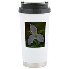 Pink Trillium Travel Mug