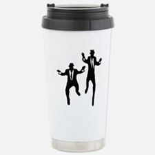 Dancing Brothers Stainless Steel Travel Mug