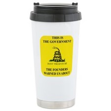 THIS IS THE GOVERNMENT  Travel Coffee Mug