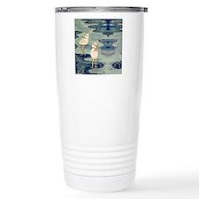 Love Snowy Plovers Love Travel Mug