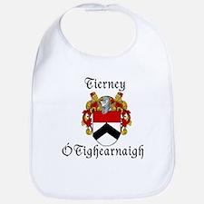 Tierney In Irish & English Bib