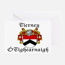 Tierney In Irish & English Cards (Pk of 10)