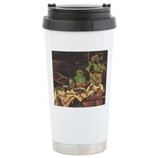 Cezanne - Flower Pot at Travel Mug