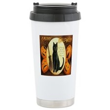 Vintage Halloween Jack  Travel Mug