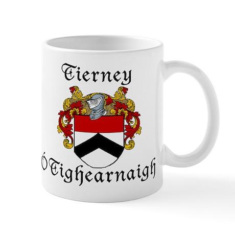 Tierney In Irish & English Mug