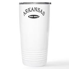 Arkansas Disc Golf Travel Coffee Mug