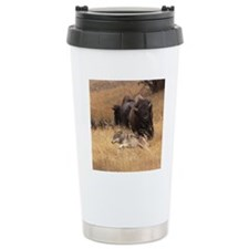 Bull Bison, Female, & W Travel Mug