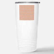 Retro Houndstooth Vinta Travel Mug