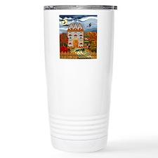 Samhain Cottage Travel Coffee Mug