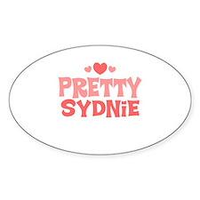 Sydnie Oval Decal