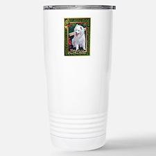 Japanese Spitz Dog Chri Travel Mug
