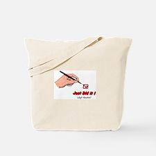 JDI (red) Tote Bag