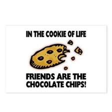 Chocolate Chip Friends Postcards (Package of 8)